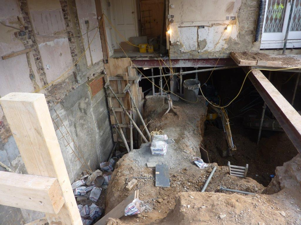 Hsm london basement projects face safety scrutiny for Building a basement foundation