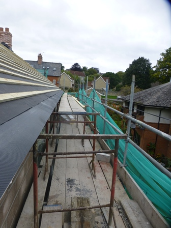 Photo 5 – Poor work at height access to roof