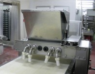 Photo shows the pasty-making machine which caused the workers injuries