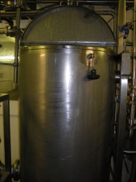 Photo shows the 600 litre tank involved in the incident