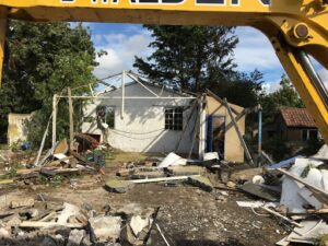 Demolition of outbuilding in Ripon