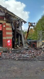 Plumbing supply company and contractor fined for building collapse
