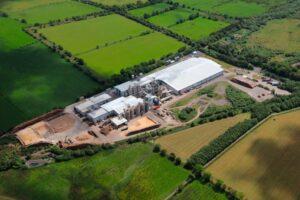 Aerial image Egger UK Limited